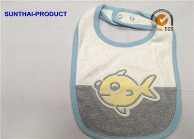 Cina Warna Kontras Binding Applique Baby Oto, Bubble Screen Print Baby Feeding Oto pemasok